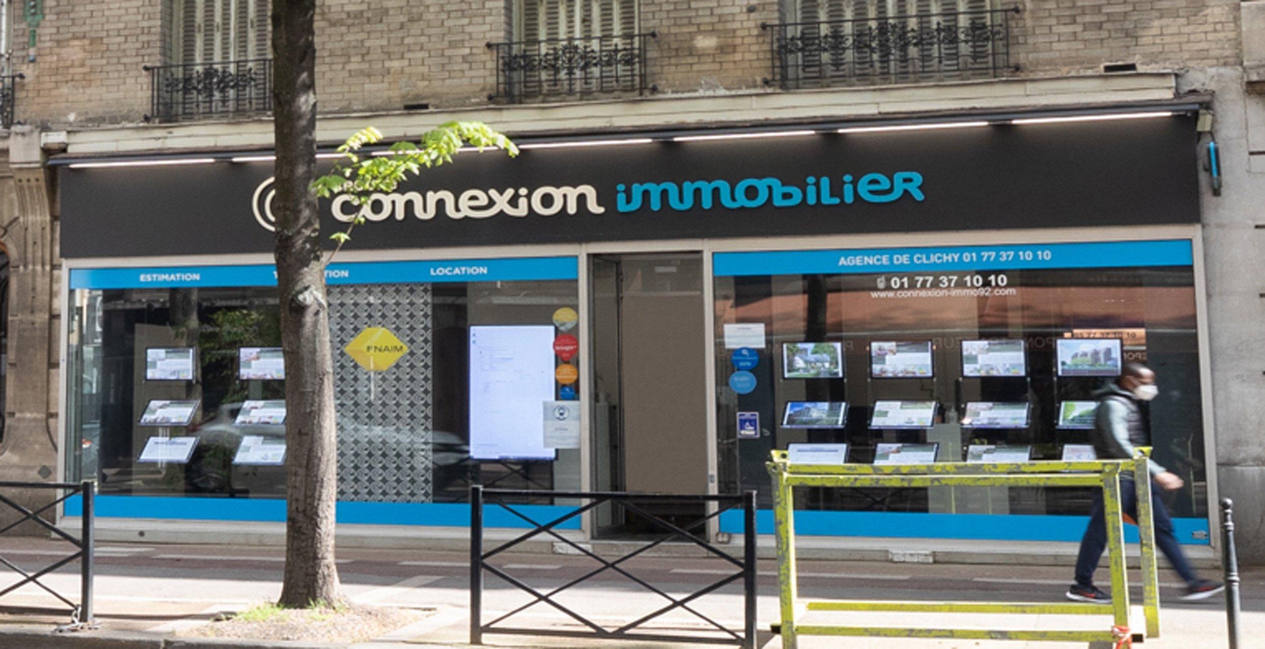 Connexion Immobilier clichy