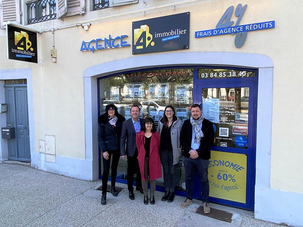 4% immobilier Lons Le Saunier