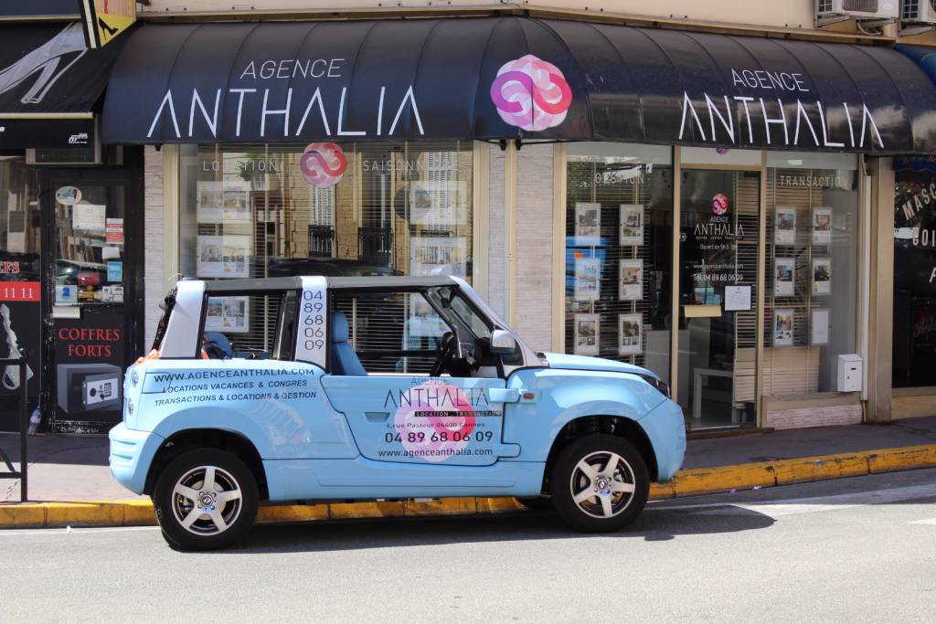 Real estate agency ANTHALIA CANNES