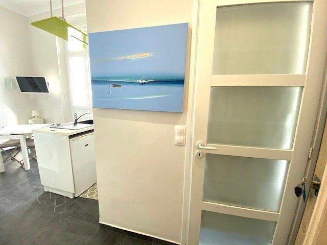 A 3 mn de la rue d'Antibes , superbe studio neuf dans résidence de renom