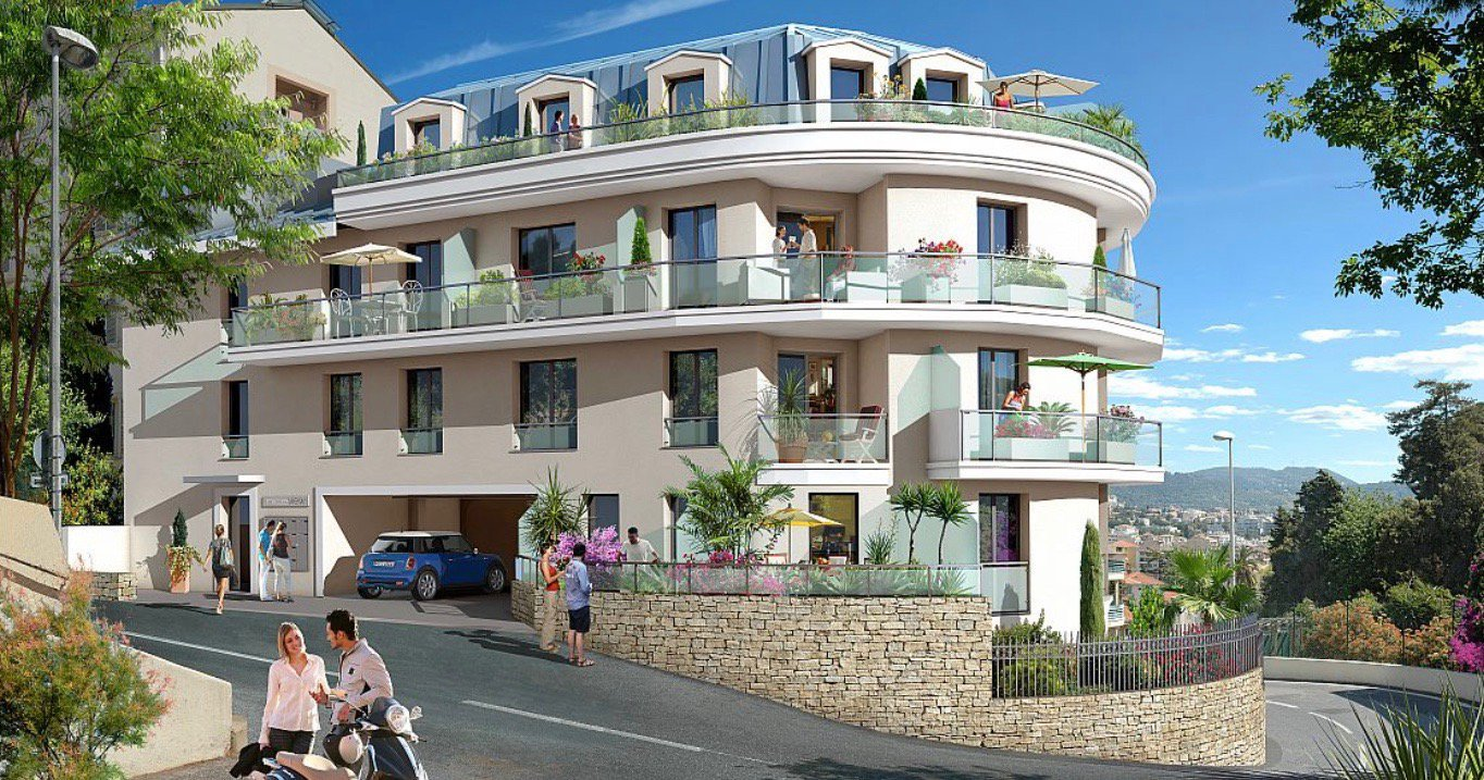 NICE - French Riviera - 2 Bed apartment with sea view