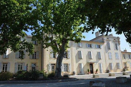 Chateau entre Narbonne et Carcassonne