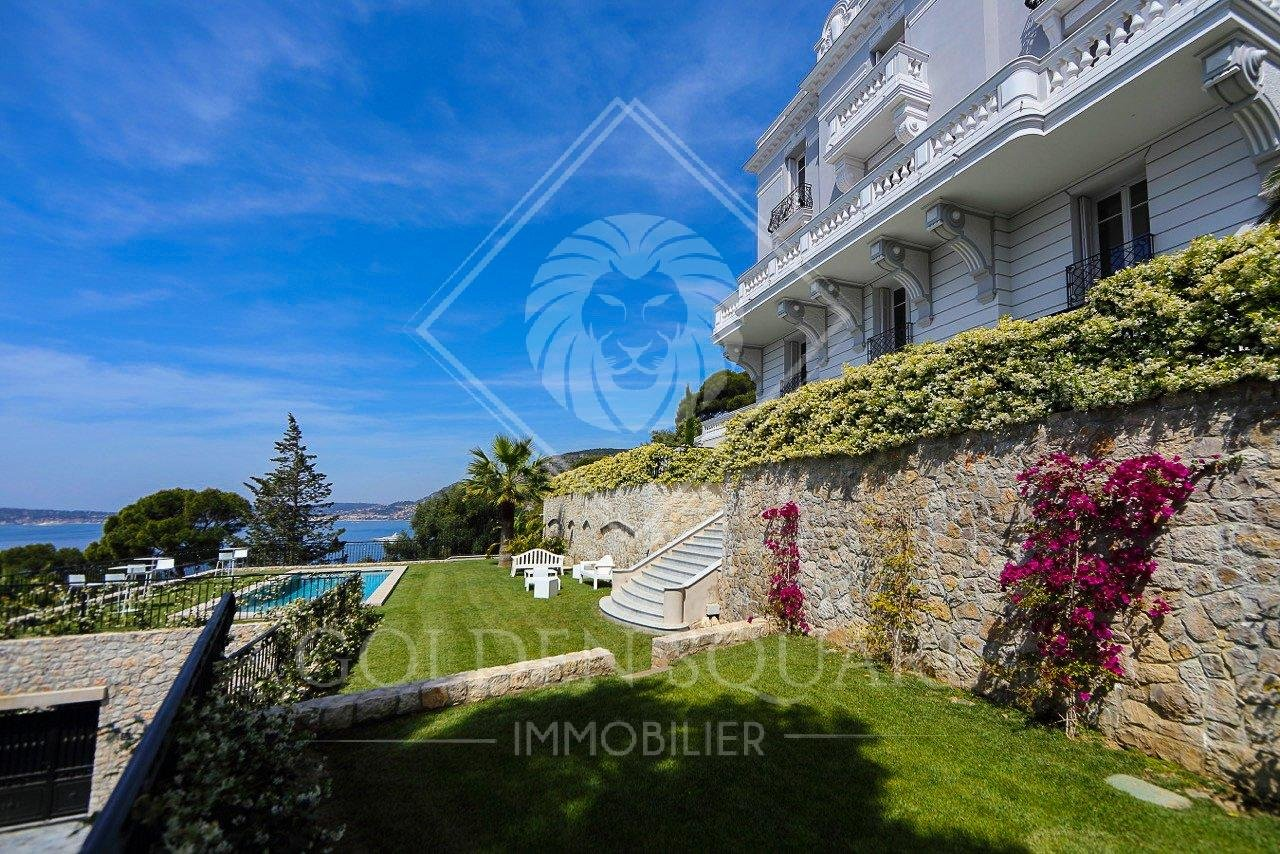 CAP D'AIL - 6 BEDROOM - HISTORICAL BELLE EPOQUE VILLA