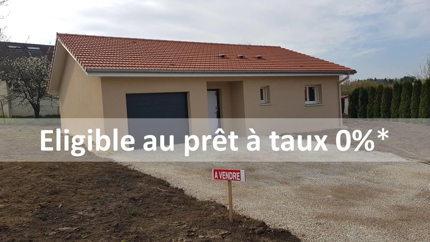 Idéal investisseurs: Maison neuve, 4 pièces, PMR  BADONVILLER