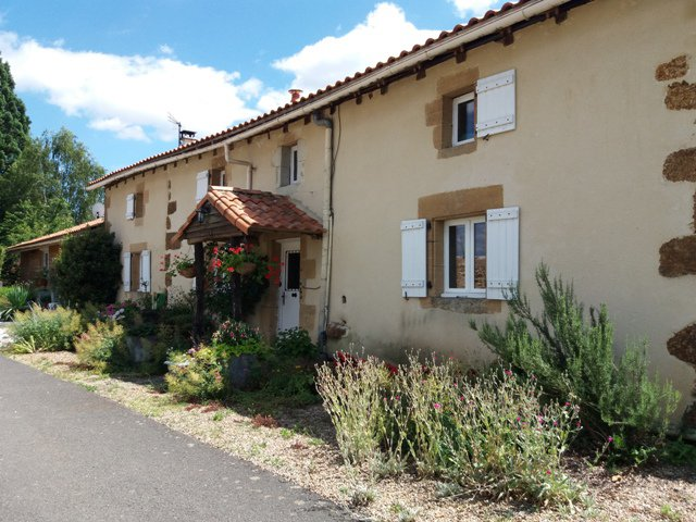 Exceptional Farmhouse with Land in Pressac in the Vienne