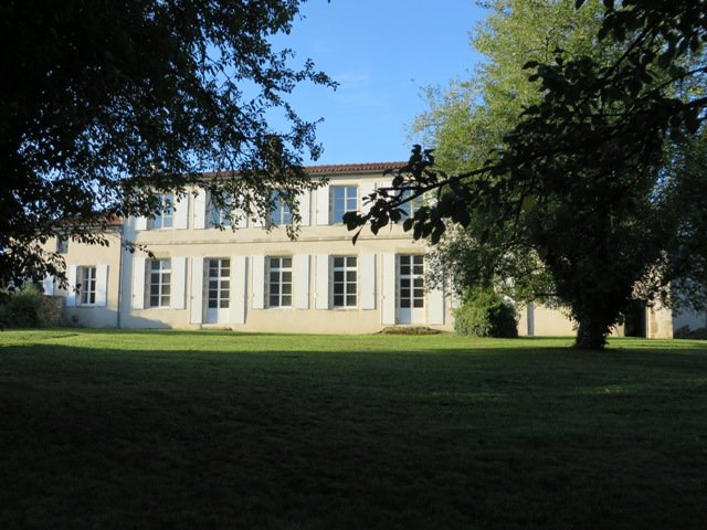 Maison de Maître with 2nd House, Studio Flat & Outbuildings set in 1 Hectare of Parkland in the Centre of a Popular Village