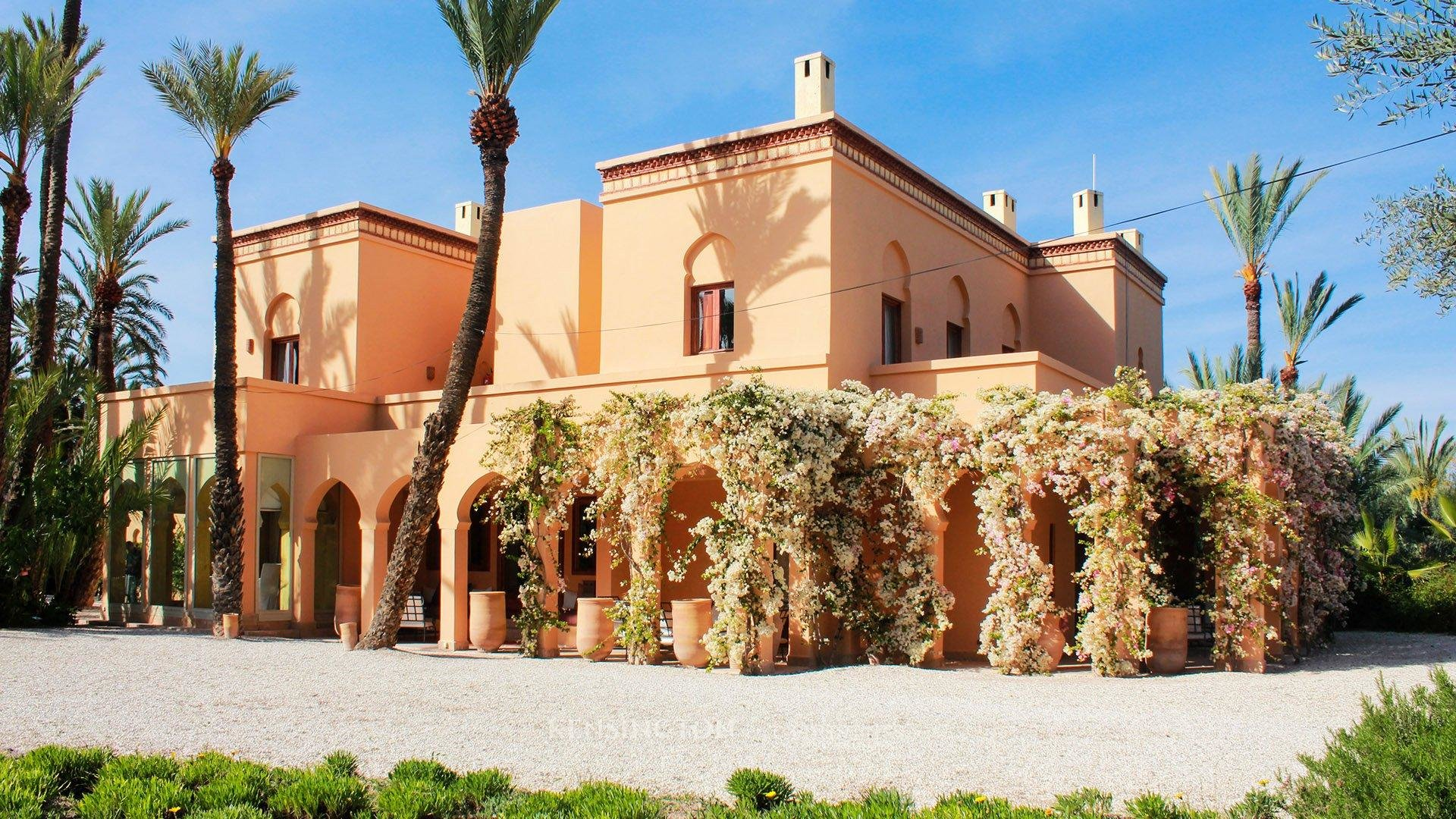 KPPM00670: Villa Jnane Fiestan Villa de luxe Marrakech Maroc