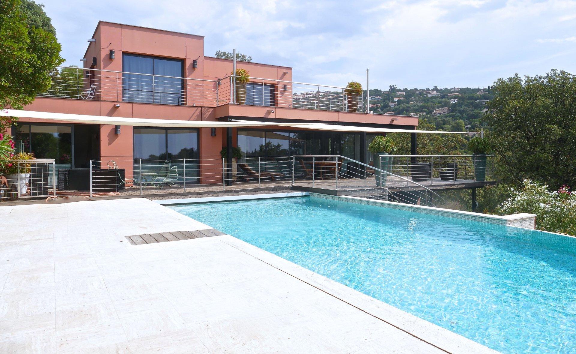 Contemporary villa with sea view la Croix-Valmer Var Provence