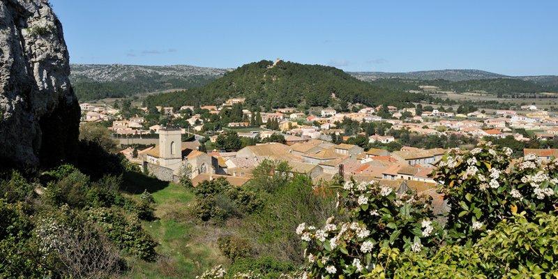 Terrain viabilisé constructible Roquefort des Corbières