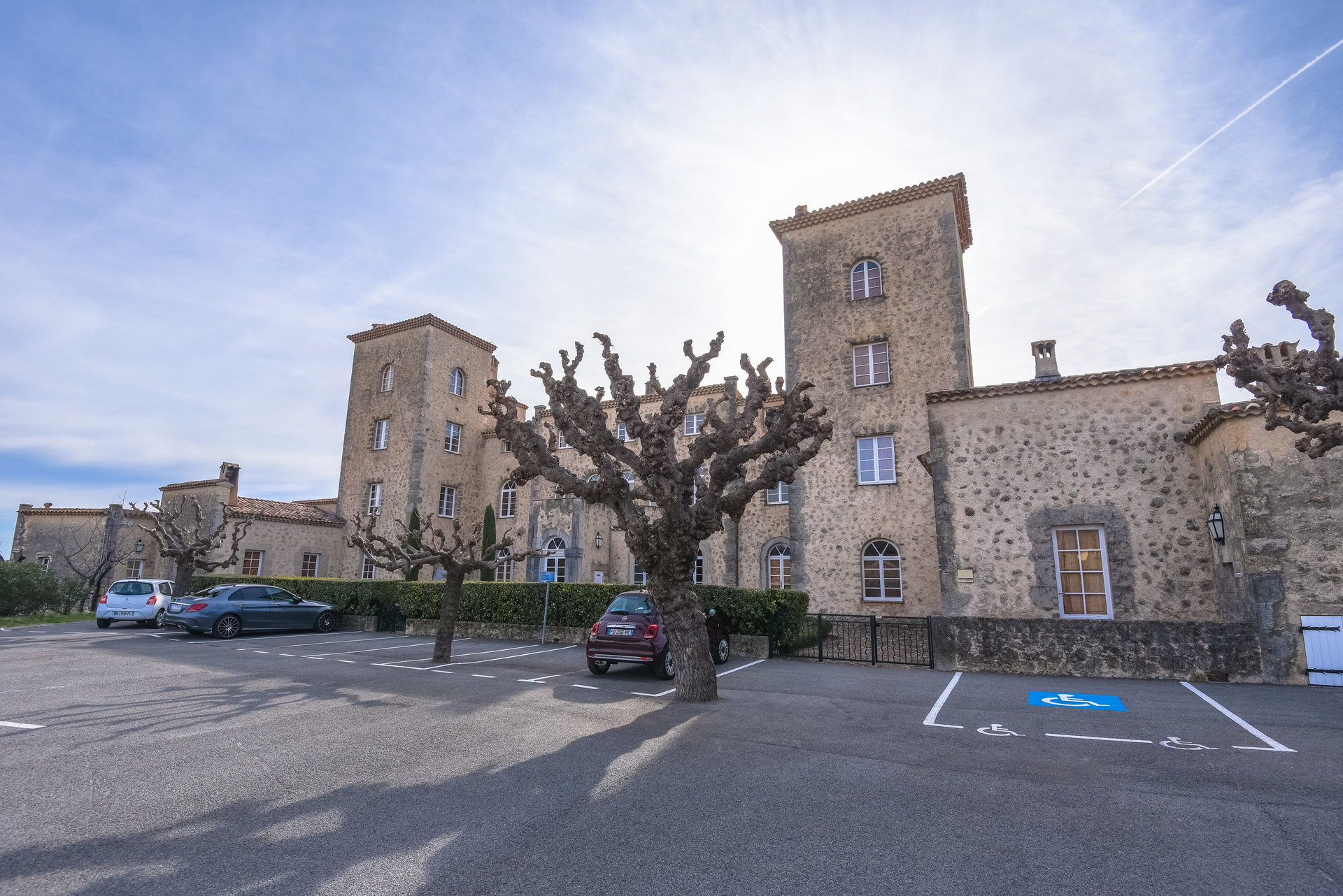 Tourrettes/Fayence: apartement in kasteel