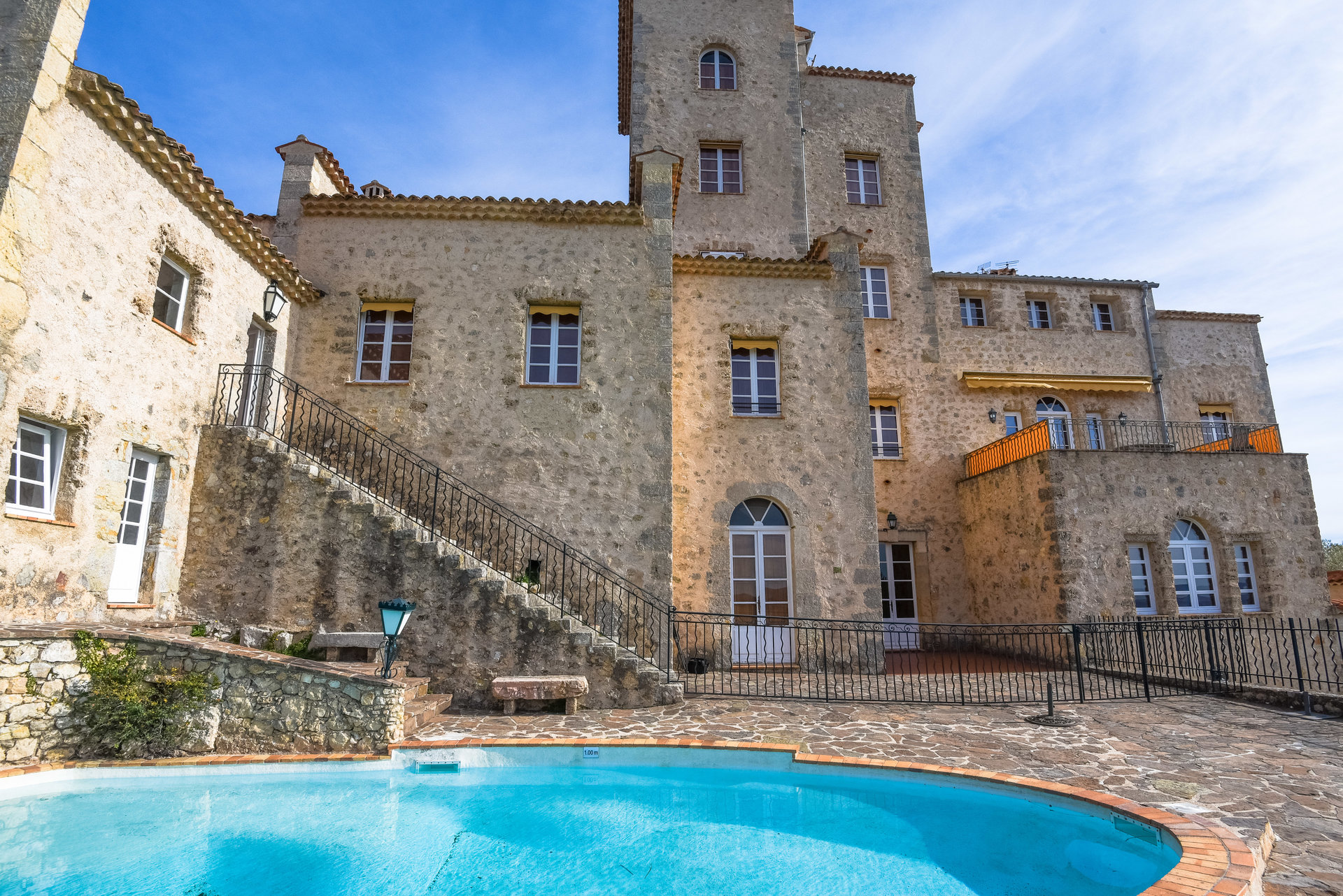 Tourrettes/Fayence: apartement in kasteel