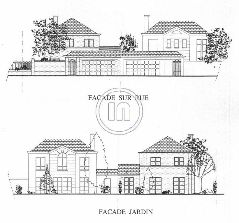 Maison avec 3 chambres,  jardin et garage.