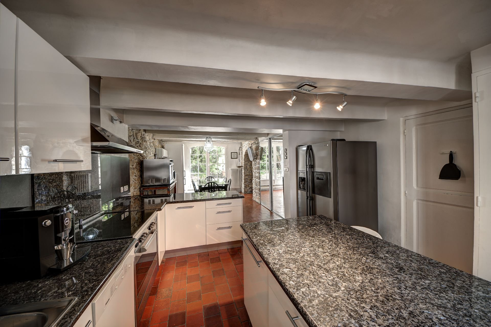 Kitchen of the guest house with garden and pool Rocbaron, Var, Provence