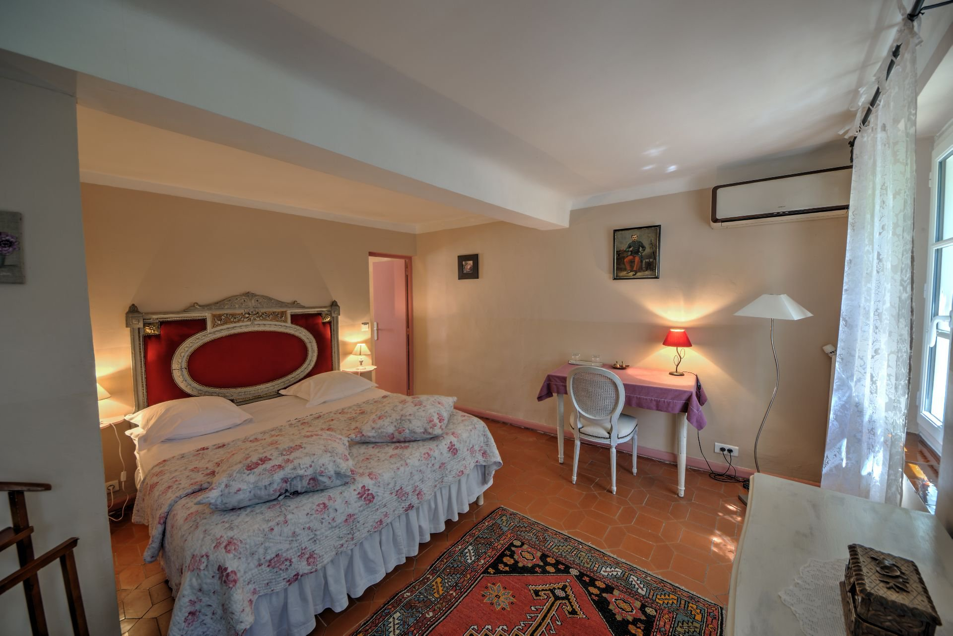 Suite 3 of the guest house with garden and pool Rocbaron, Var, Provence