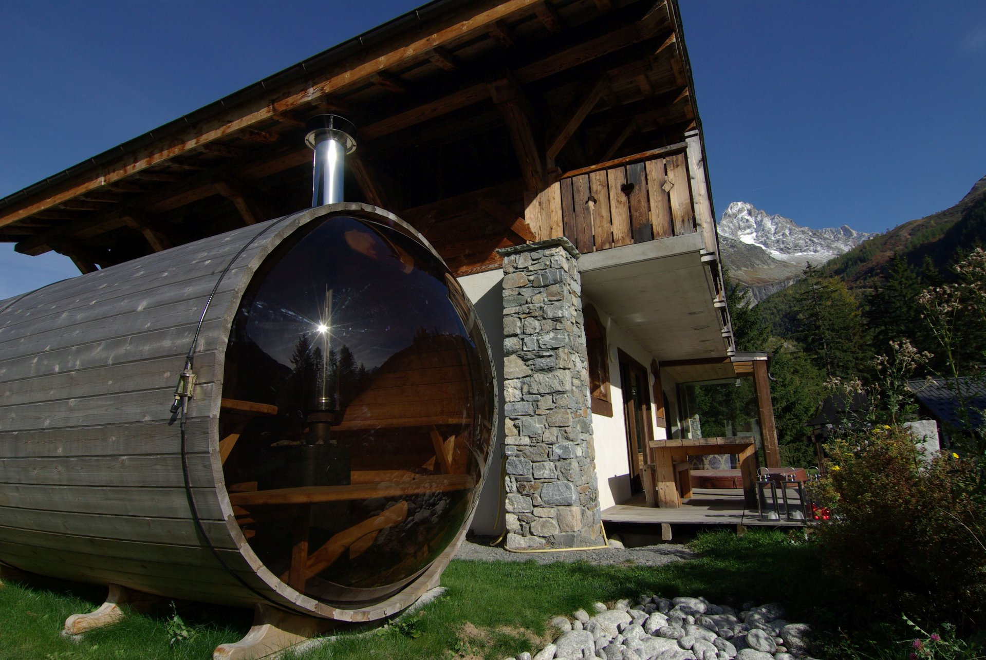 Beautiful chalet facing the Grands-Montets - Chamonix Mont Blanc