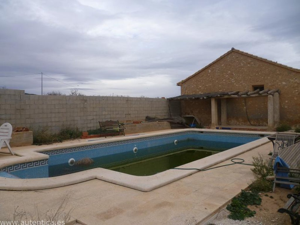 Part Reformed Country House - with Pool