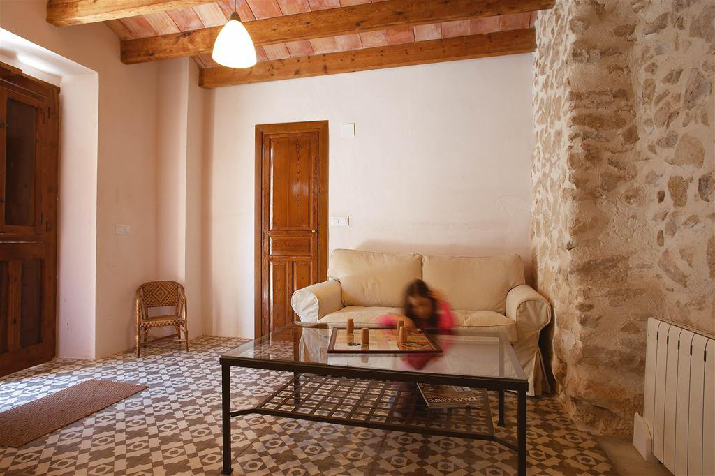 Casa Piteta, located on a little village square, a typical well renovated village house