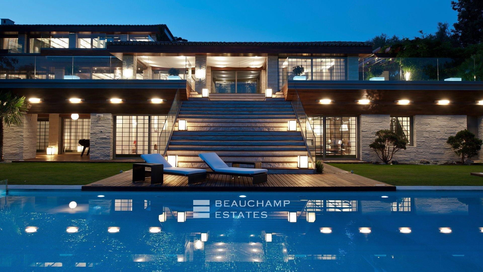 dom architektura wnetrze cannes francja
