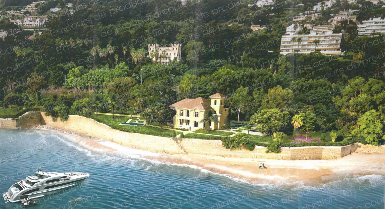 CANNES BEACH FRONT PROPERTY
