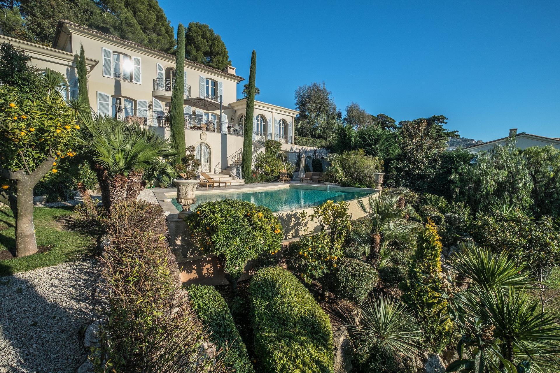 Cannes - Californie - Splendide villa avec vue mer