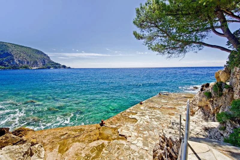 Between Nice and Monaco - Exceptional waterfront situation for development