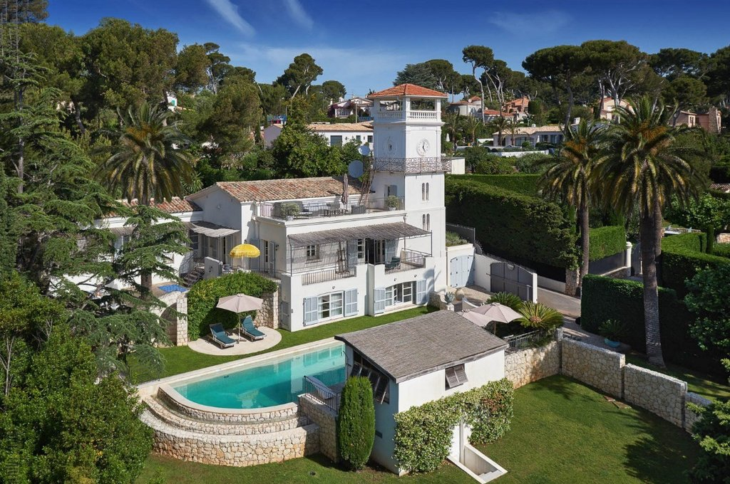 Cap d'Antibes - Splendid villa in a gated domain