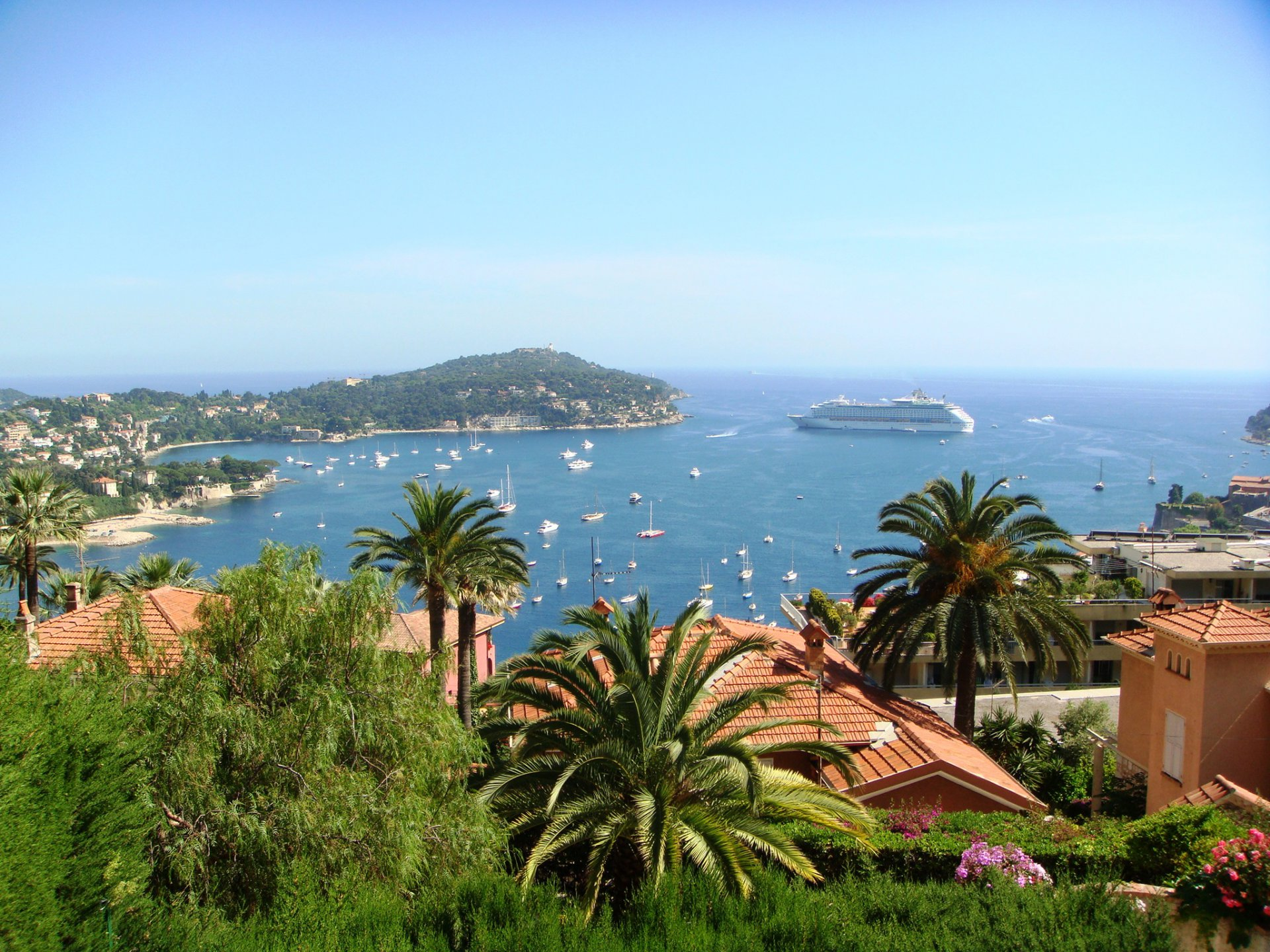Villefranche-sur-Mer -  Charming villa with panoramic sea view