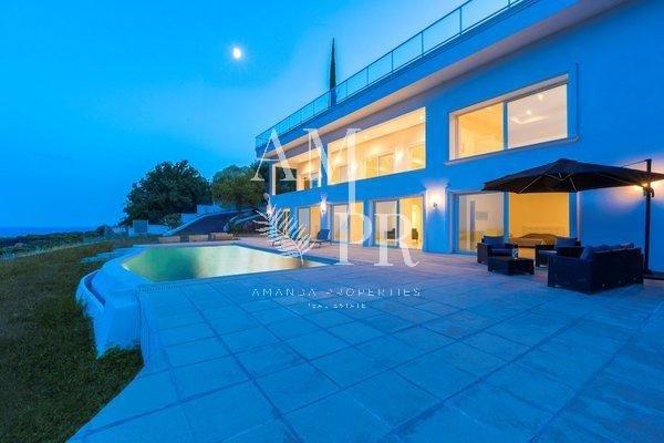 Villa panoramic sea view near Cannes