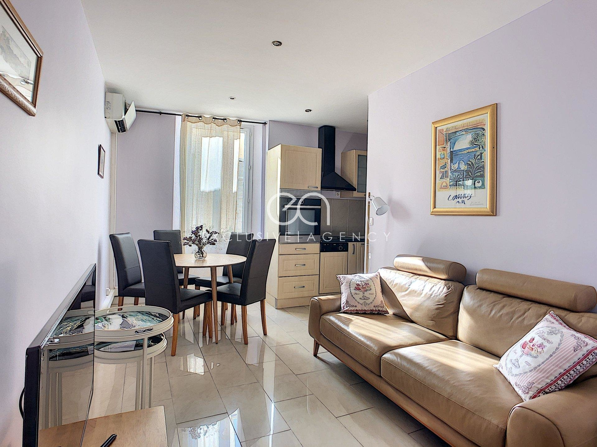 For sale - Cannes Center 2 bedroom apartment of 50sqm