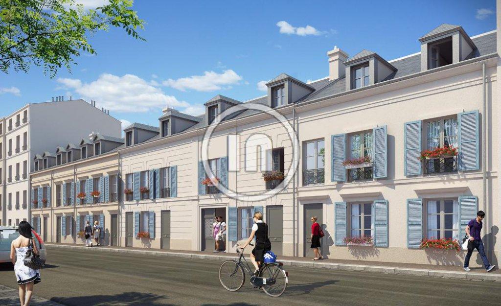 """Versailles - Programme Neuf """"COEUR SAINT LOUIS"""" du studio au 3 pièces"""