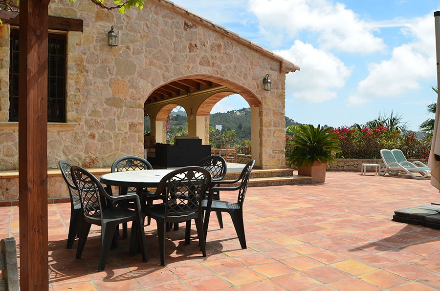 Luxury finca with an exceptional view point