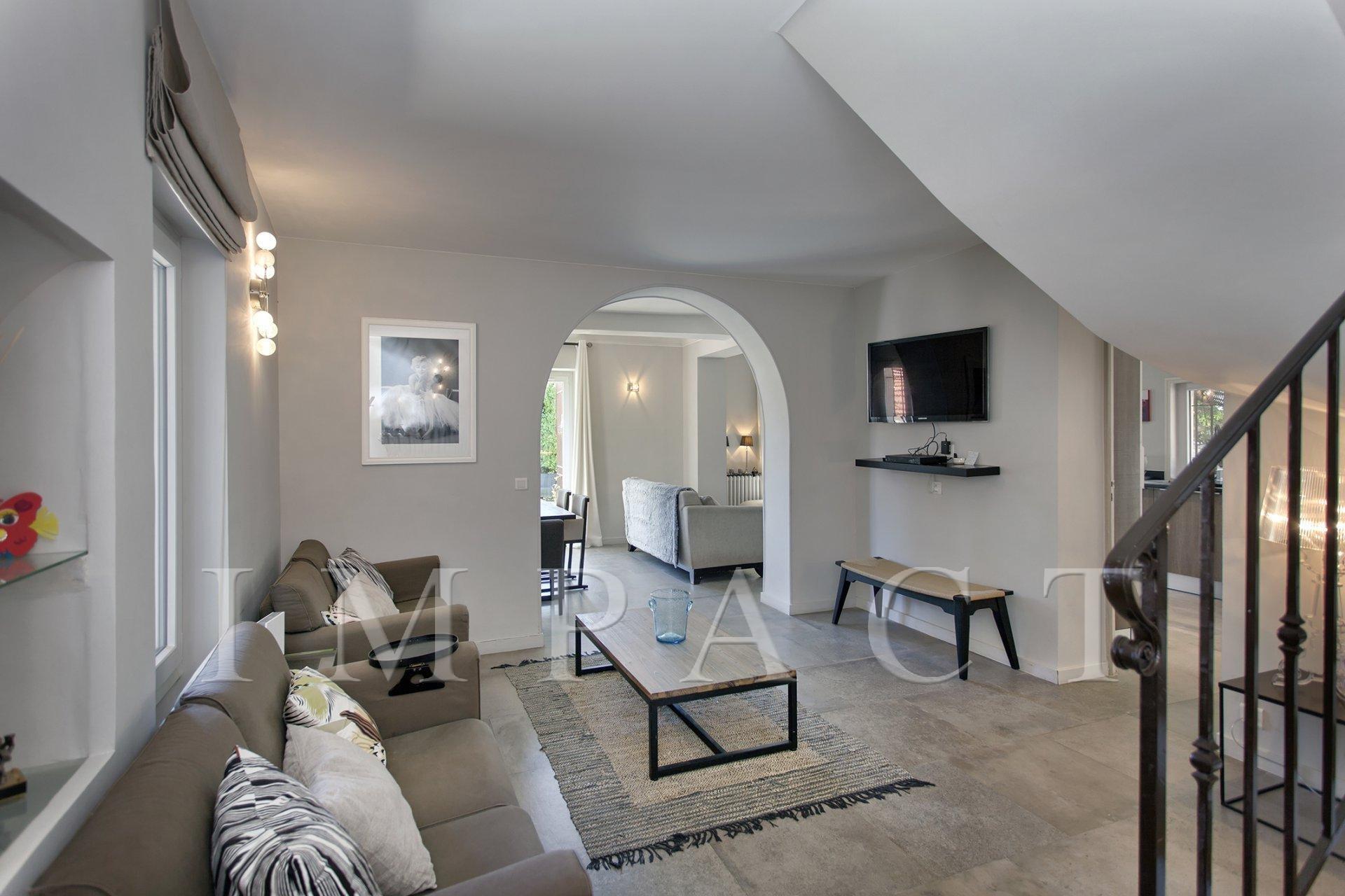 Villa rénovée à louer, Centre Ville de Cannes