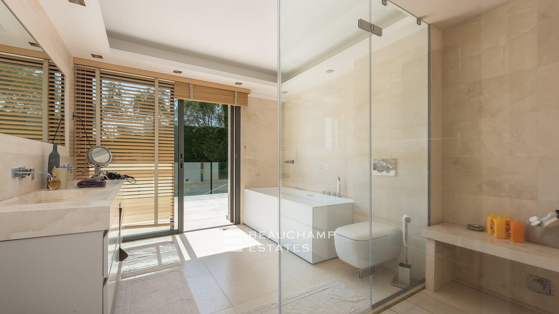 Villa Contemporaine 6 Chambres Cannes Californie