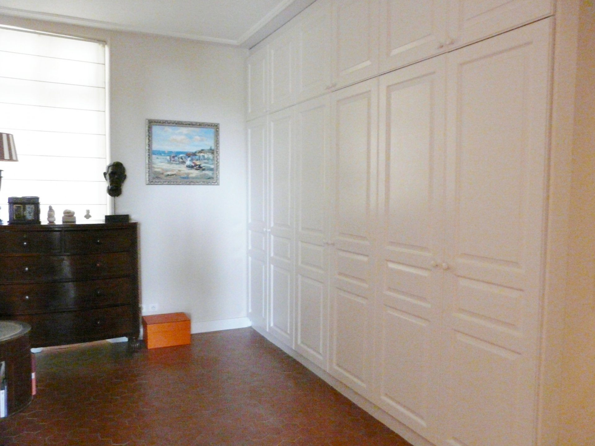 Entry with closets