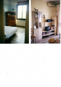 Pleasant apartment type 2 in residence Beautiful view Bright Air conditioning Balcony / terrace