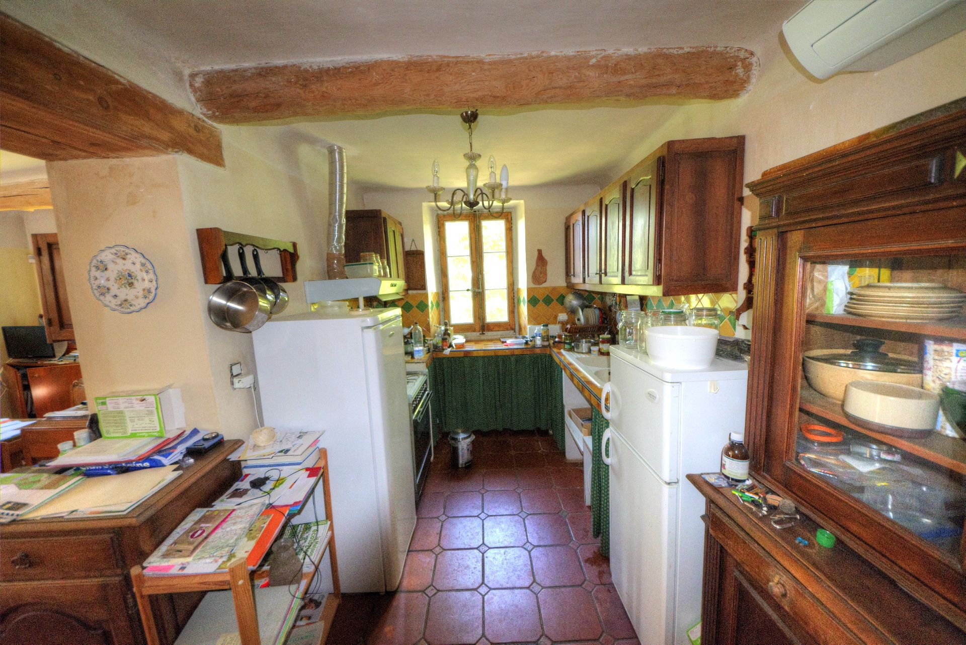 Kitchen bastide villecroze Var Provence