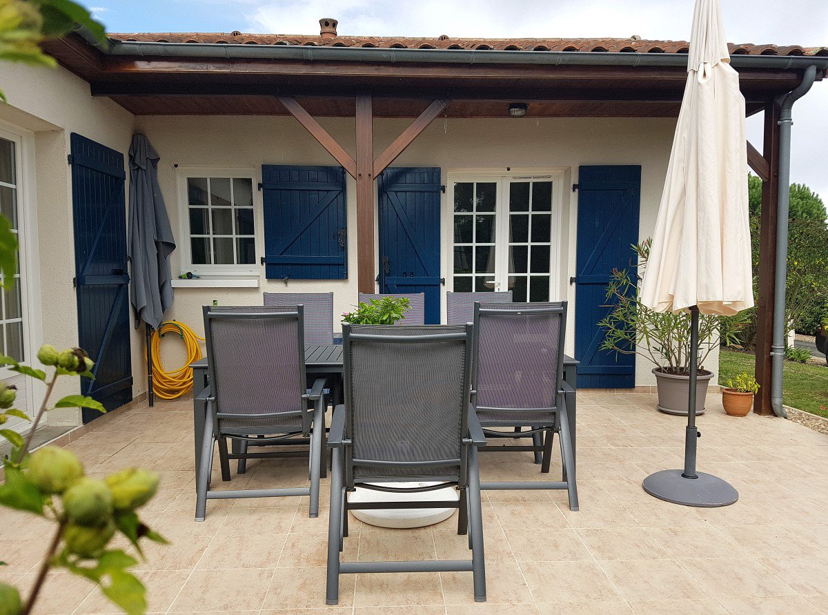 Deux-Sevres (79), golf Les Forges: Bungalow in ruhiger Ort