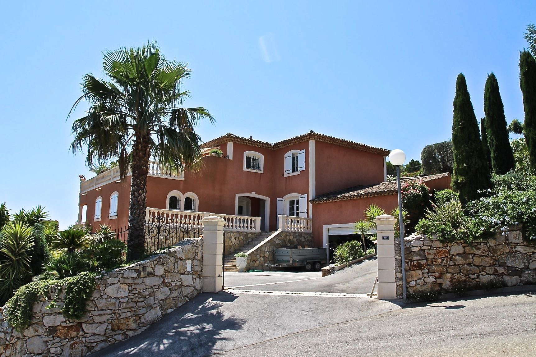 Neo-provençale house with stunning sea view Cavalaire sur Mer Var Provence