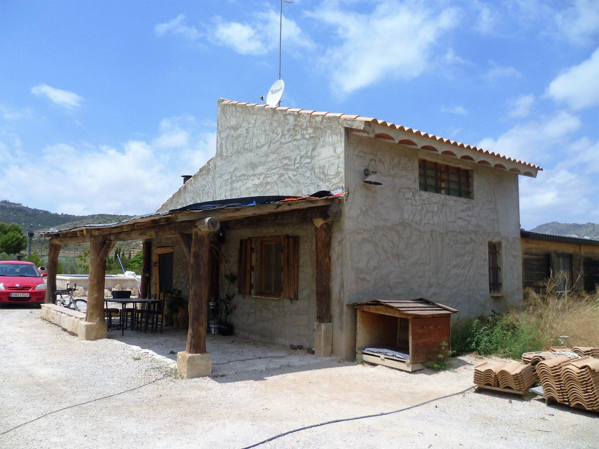 Yecla Murcia Beautiful Rustic Style Country Finca For Sale