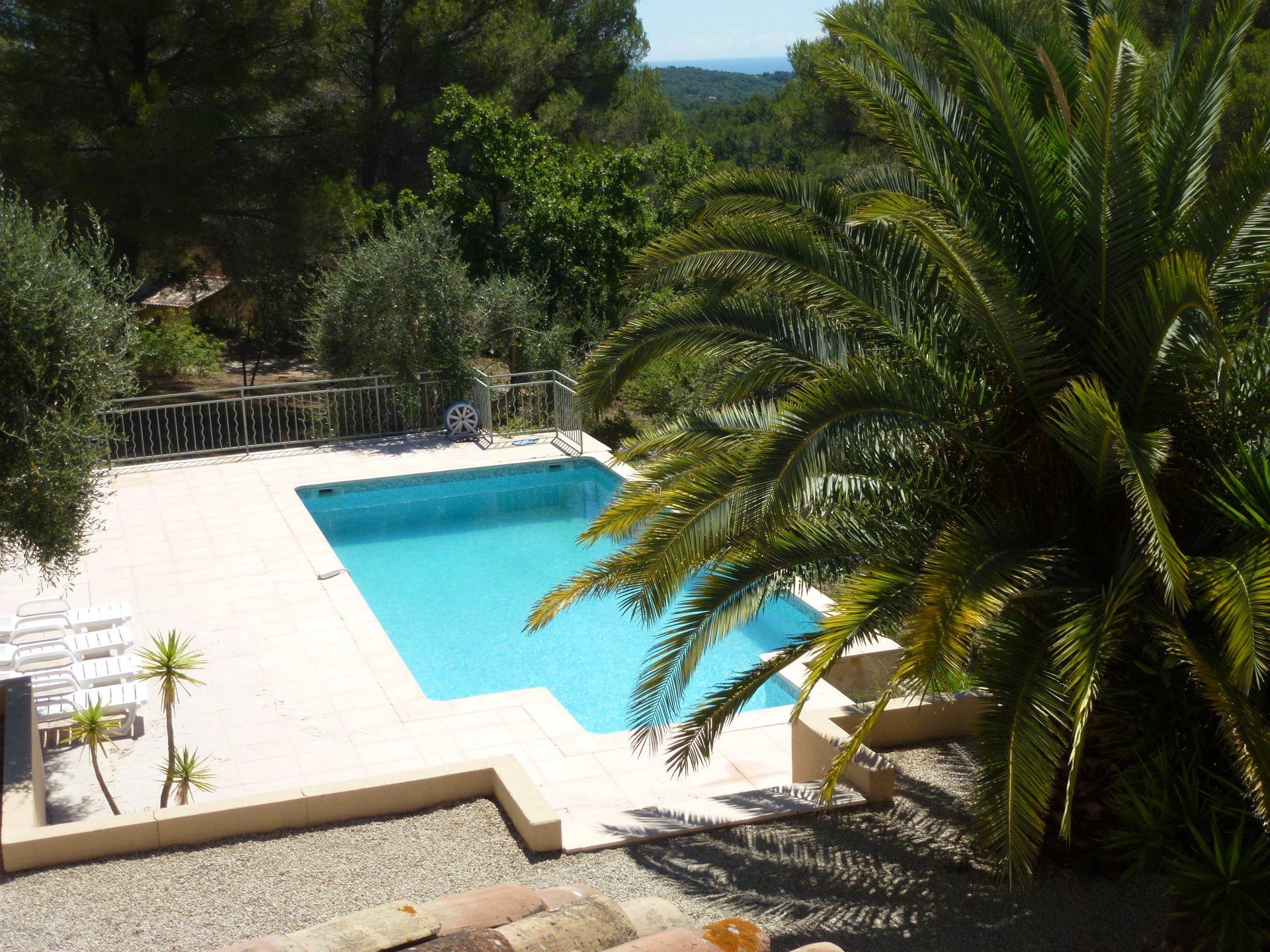 Sale Villa - Roquefort-les-Pins La Messuguière