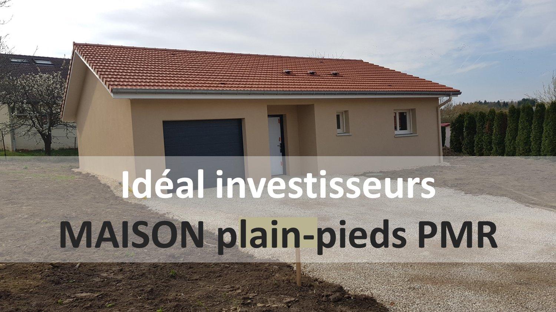 Idéal investisseurs: Maison neuve, 4 pièces, PMR, BADONVILLER.