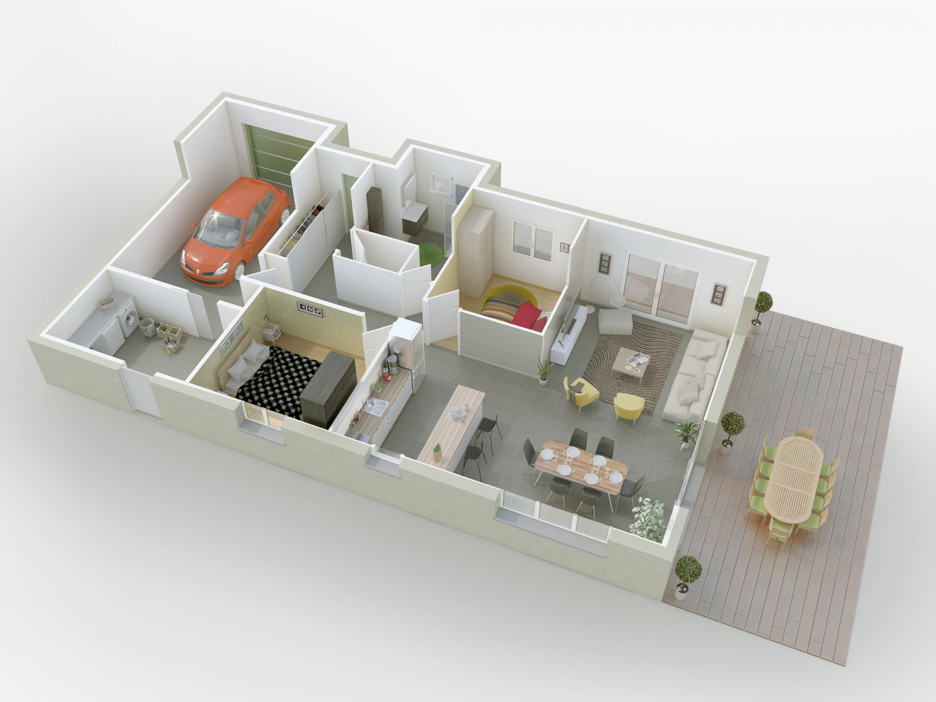 Maison neuve 5 pièces  BADONVILLER