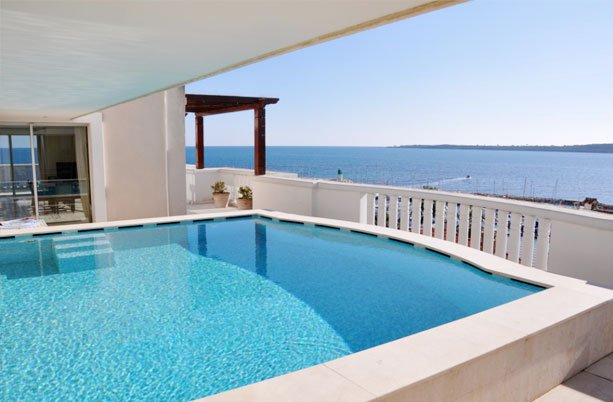 CANNES, VILLA-TOIT LUXE, PALM BEACH