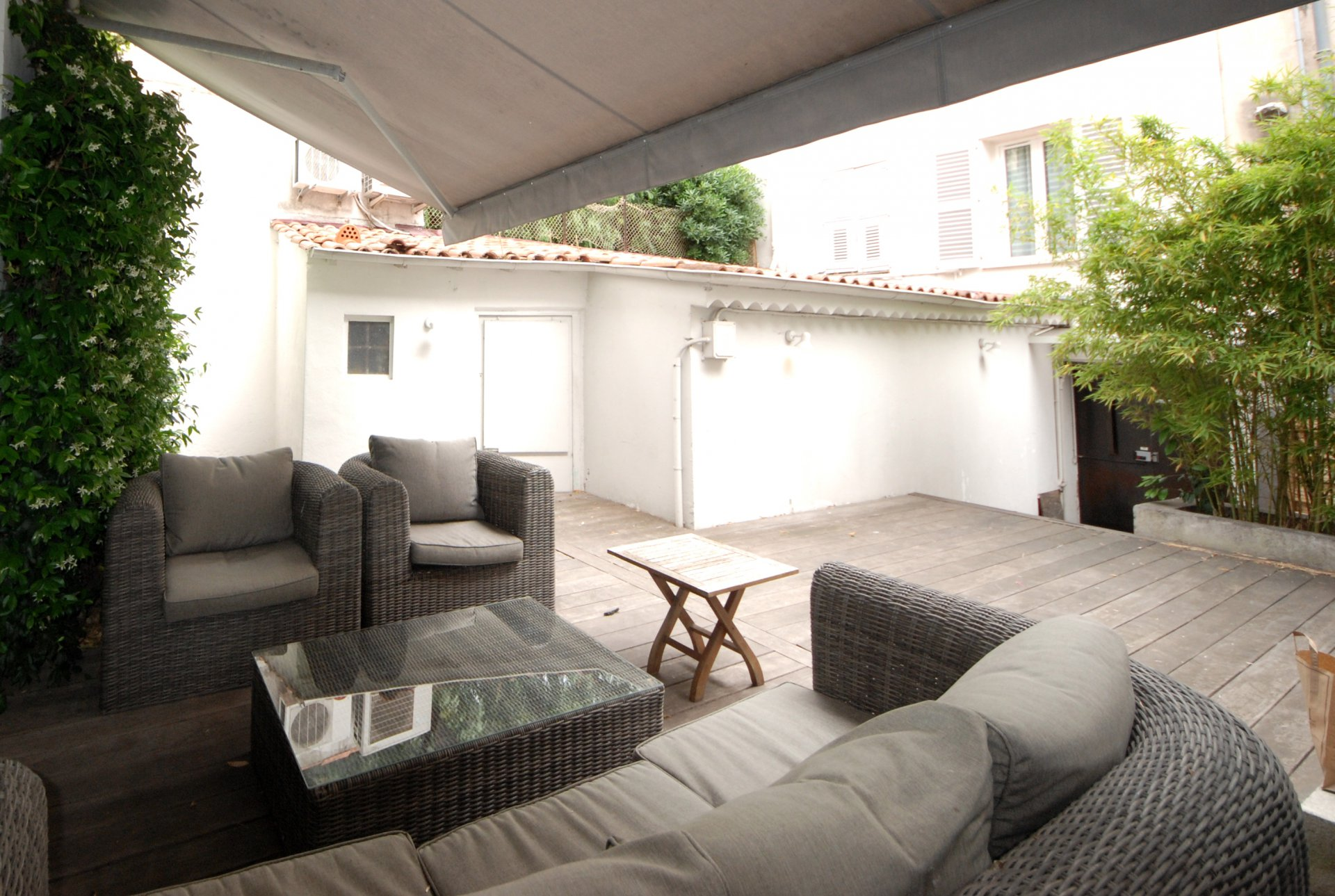congress rental Town House in a Cannes 6 bedroom 100 m from Palais