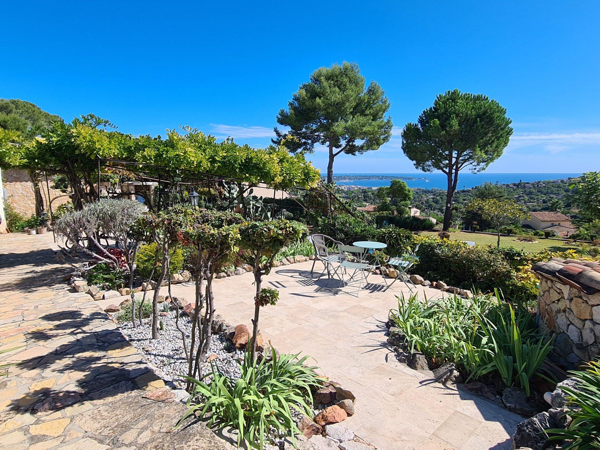 Villa provençale avec vue mer - Antibes