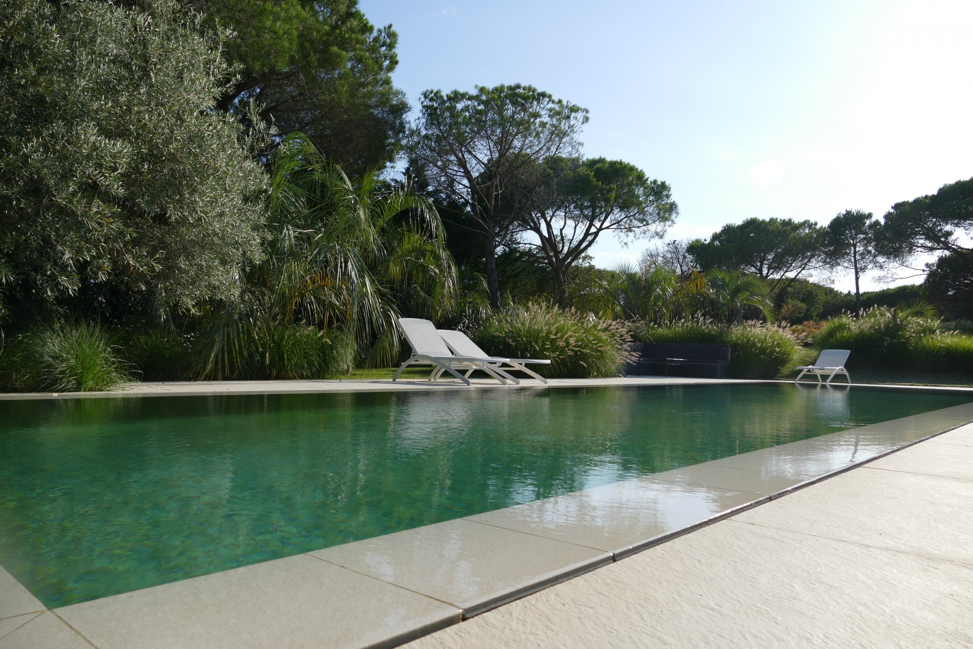 Sea side contemporary house Ramatuelle Pampelonne Var Provence