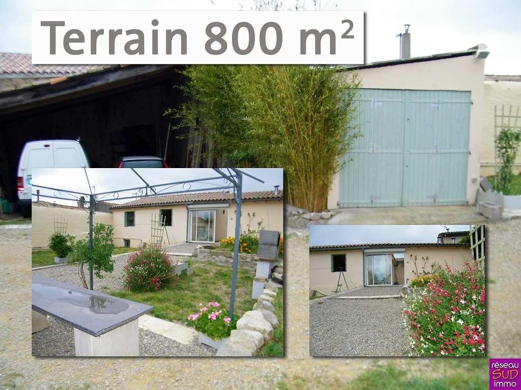 T6 plain-pied de 170 m2 sur 800 m2 bien authentique !