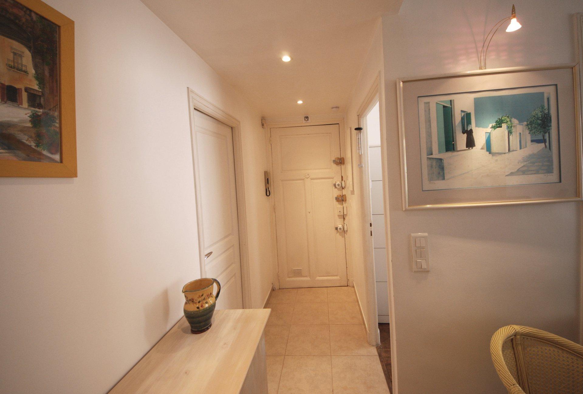 location congrès  appartement 2p au centre de Cannes