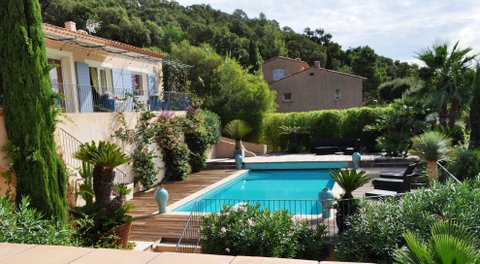 Neo-provençal style house with stunning sea view Cavalaire sur Mer Var Provence