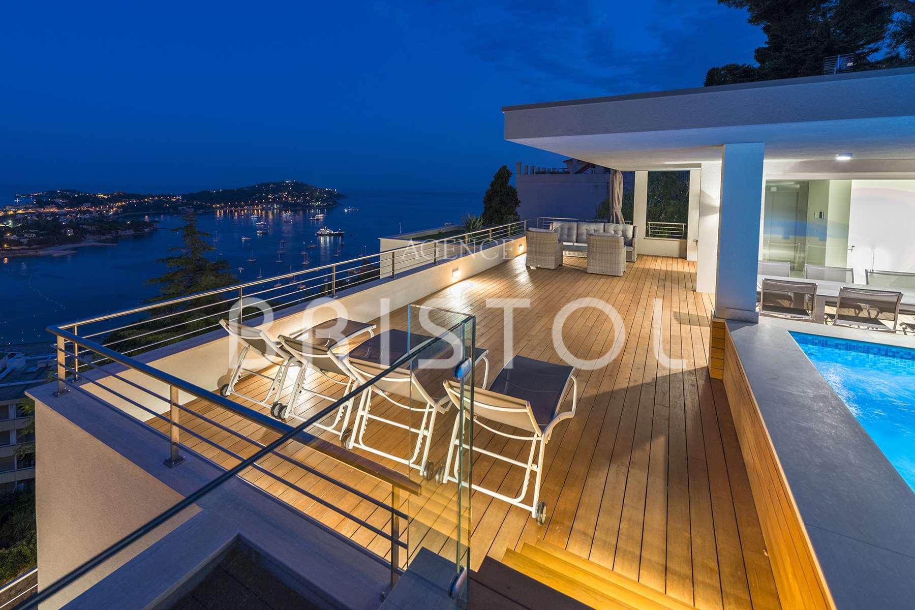 Luxury Property located in Villefranche sur mer   -sea view